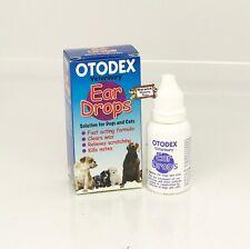 Veterinary Ear Drops Kills Mites Fast Acting Dog & Cats Otodex 14ml by petlife