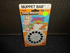 Muppet Babies  1985  sealed  View Master Pack Reels  MOC