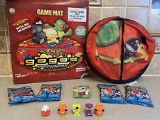 "Rare GOGOS Crazy Bones 32"" Game Mat with 9 Gogos Figures"