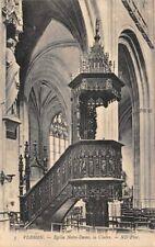 VERNON - Church Notre Dame Notre-Dame (Notre Dame), the Chair