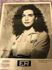 Juliana Marqulies Autographed Photograph 8 x 10