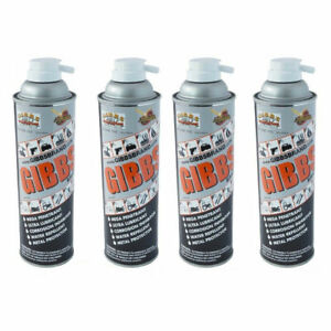 Gibbs Brand Lubricant, Penetrating Oil, Multi Purpose, Metal Protector (4 x12oz)