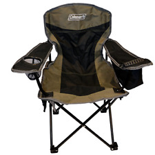 New Coleman Kids Insulated Cooler Quad Arm Chair with Handy Storage Pockets