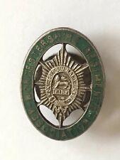 Vintage WORCESTERSHIRE REGIMENT ASSOCIATION Military Enamel Lapel Badge