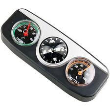 Kit 3in1 bussola termometro igrometro adesivo auto automobile car barca camper