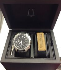 BULOVA Special Edition Rare UHF Chronograph Apollo 15 Mission Moon WATCH 96B251