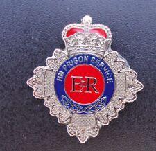 HM HMP Prison Service CREST tie tac pin badge