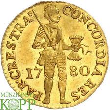 AB4166) Niederlande Dukat 1780 Provinz. GOLD