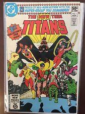 The New Teen Titans #1 - Dc Comics 1980 - Robin, Cyborg, Kid Flash, BeastBoy