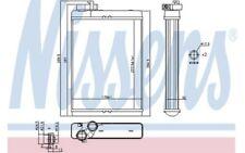 NISSENS Radiador de calefacción 70231