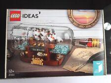 lego 21313 Ideas Le Léviathan Bateau En Bouteille Neuf Scellé