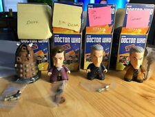4 Opened (Lot) Doctor Who Rebel Time Lord Blind Box Titans Vinyl Figure Dalek