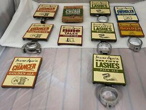 James Squire Beer Tap Badges, Full Metal or Wood ,Home Bar or Man Cave Display