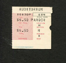 1969 The Doors concert ticket stub Chicago Auditorium Jim Morrison