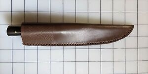 Roach Belly Knife with Leather Sheath
