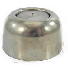 Porta lumini in peltro alto design minimal 100% made in Italy