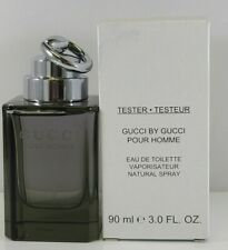 Gucci by Gucci Pour Homme 90ml 3 Oz Eau De Toilette Spray Men New Cap As In Pic
