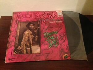"""HOUND DOG TAYLOR SPANISH 12"""" LP DOUBLE PACK SPAIN BLUES - NATURAL + BEWARE"""