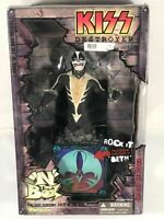 Kiss Destroyer The Cat N The Box Action Figure Statue Rare Art Asylum Psycho Toy
