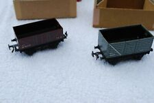 Pair of 00 gauge TTR Tin Wagons 634 High Side/632 Low Side with boxes excellent