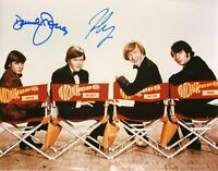 The Monkees Davy Jones & Mickey Dolenz Signed 8x JSA COA Autograph Tork Nesmith