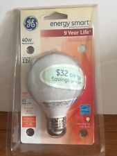 GE Lighting 78946 Energy Smart CFL 11-Watt (40-watt replacement) 450-Lumen G25