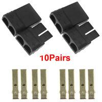 10 Pairs TRAXXAS TRX Plug Connector For RC Lipo/NiMh Battery Brushless ESC Motor