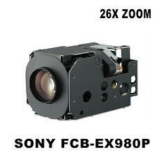 FCB-EX980P powerful 26x zoom lens with a wide high resolution PTZ CAMERA