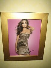Mila Kunis Gorgeous Sexy Signed Photograph {8x10 ins} In A Nice Gold Frame