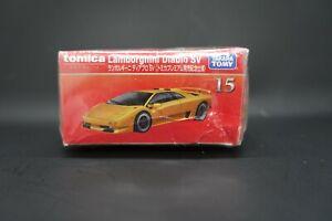 Tomica Premium 15 Lamborghini Diablo SV-4 special edititon , new but box damaged
