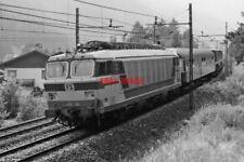 PHOTO  ITALY - FS LOCO NO E633 004  NEAR BOLZANO  AUG 1987