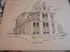 1901 Baugewerkszeitung 65  / Villa Arzt Architekt Eckhardt Lübeck