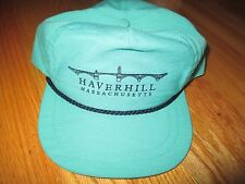 Vintage HAVERHILL Massachusetts (Adjustable Snap Back) Cap
