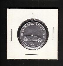 Sunoco--1969 Antique Car Coin--1921 Dusenberg Straight 8