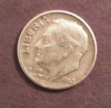 1962-D 90% Silver Roosevelt Dime 10 Cent Coin - Denver Mint #4
