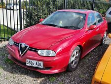 alfa romeo 156 2004 bonnet boot bumper door guard wheels seats motor r/h mirror