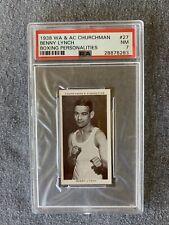 1938 Churchman, Benny Lynch, #27, PSA 7