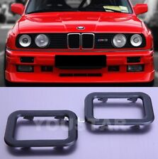 US STOCK x2 NEW Interior Door handle Trims for BMW E30 E24 E23 E28 Z1 635csi M6