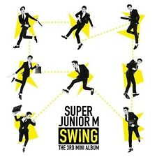 Super Junior M - Swing (3rd Mini Album) CD+Photocard+Gift K-POP