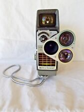 Bell & Howell Electric Eye 8mm Film Camera Perpetua 393E -- Used Great Cond.