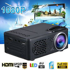 Multimedia Full HD 1080P Home Theater Mini Projector 3D LED Cinema TFT LCD STOCK