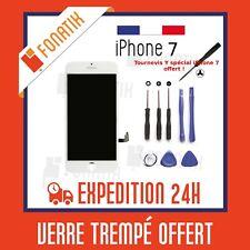 ECRAN LCD POUR IPHONE 7 BLANC + VITRE TACTILE SUR CHASSIS + KIT OUTILS OFFERT!