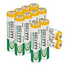 12pcs  AAA Ni-Mh 1350mah 1.2V Rechargeable Battery Batteries LR03 LR3 R03 R3 ect