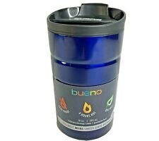 Contigo 10oz Bueno Vacuum Insulated Stainless Steel Travel Mug with Flip Lid Blu