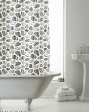 Pebble Design Shower Curtain 180cms x 180cms