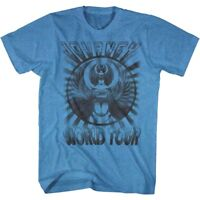 Journey Captured World Tour Scarab Men's T Shirt Glam Rock Band Concert Merch