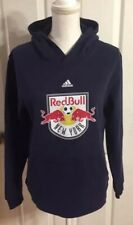New York Red Bull adidas Youth L 14/16 Children's Sweatshirt Pullover Hoodie