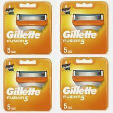 Gillette Fusion 5 X4 (20 Recharges) lames de rasoir