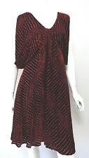 ROBERTO CAVALLI Red Velvet Mainline Dress UK 10 NEW