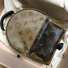 Louis Vuitton M41562 Palm Springs Monogram Coated Canvas Backpack Mini